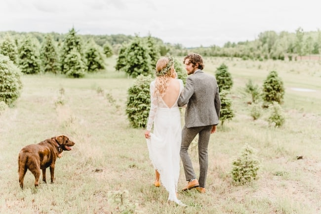 A Boho Wedding Day Amongst the Pines
