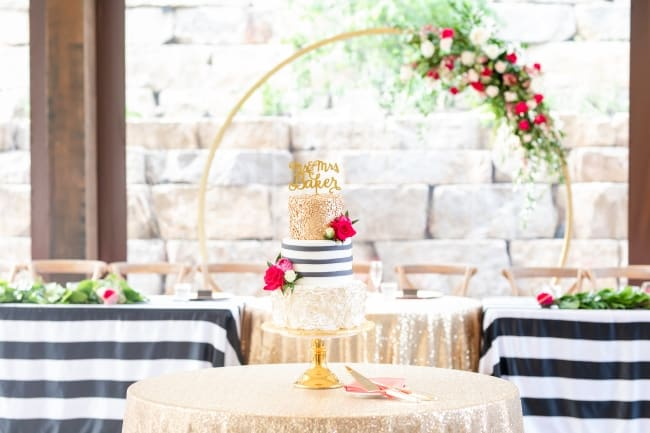 A Kate Spade-Inspired Wedding at Sunflower Hill Farms feature