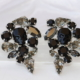 Black-Skull-Swarovski-cluster-earrings