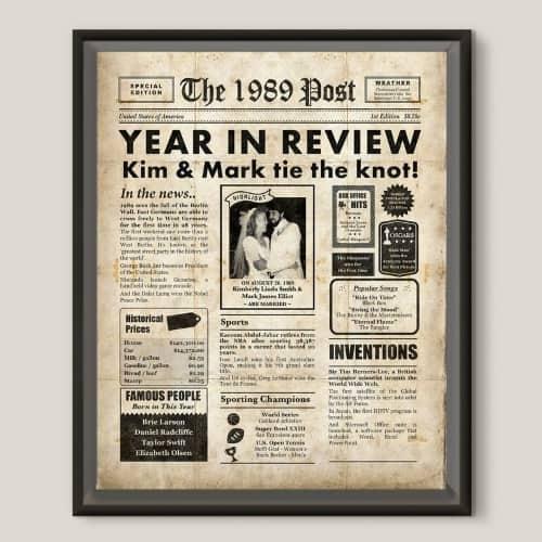 30th Anniversary 1989 digital poster
