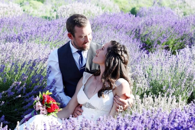 Lavender Farm Styled Shoot in Colorado feature