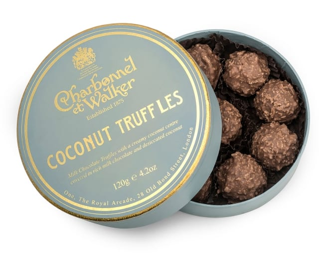 Coconut Chocolate Truffles by Charbonnel et Walker