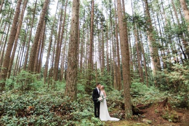Summer Garden Wedding in Vancouver feature
