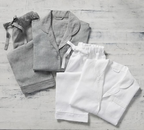 linen pajamas for wife anniversary gift