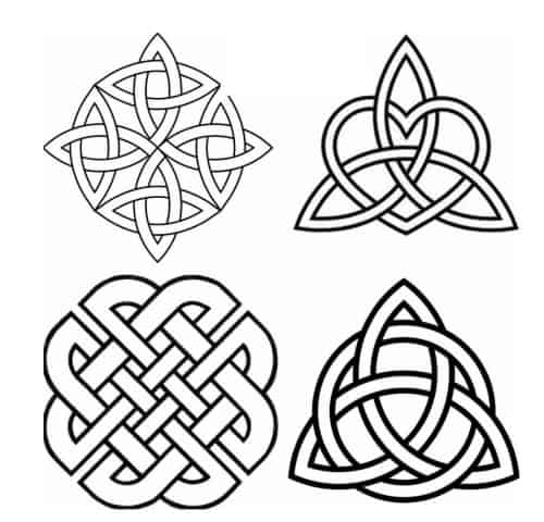 Celtic Knots Irish Patterns