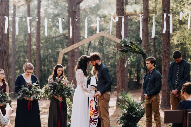 Intimate Wedding at Summer Camp where Couple First Met feature