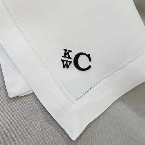 Linen Anniversary Gift For Men  Handkerchief