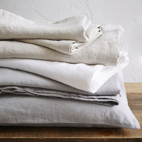 Linen Bed Sheets for 12th anniversary gift