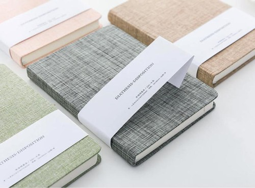 Colored Linen Notebooks