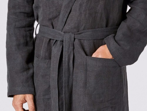 Linen Robe for 12th anniversary gift