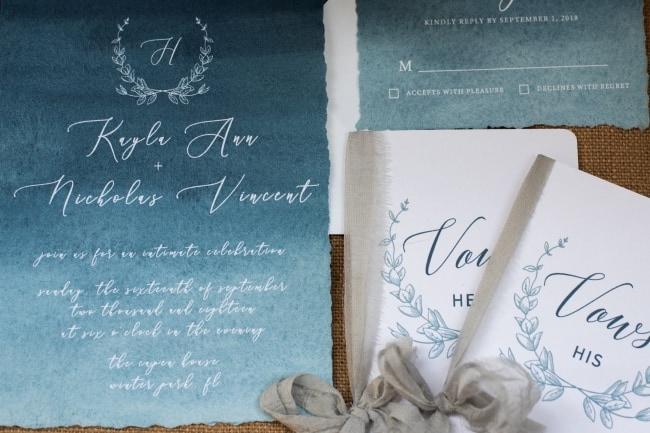 Moody Blues Inspired Styled Wedding feature