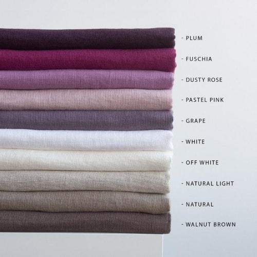 Natural Linen Scarves