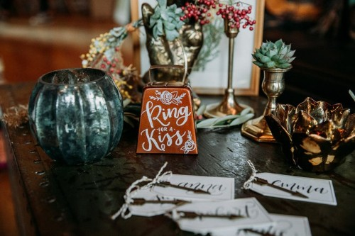 Ring for a Kiss Wedding Bell superstition