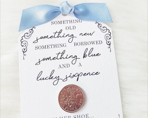 Something Old, Something New, Something Borrowed, Something Blue Superstition