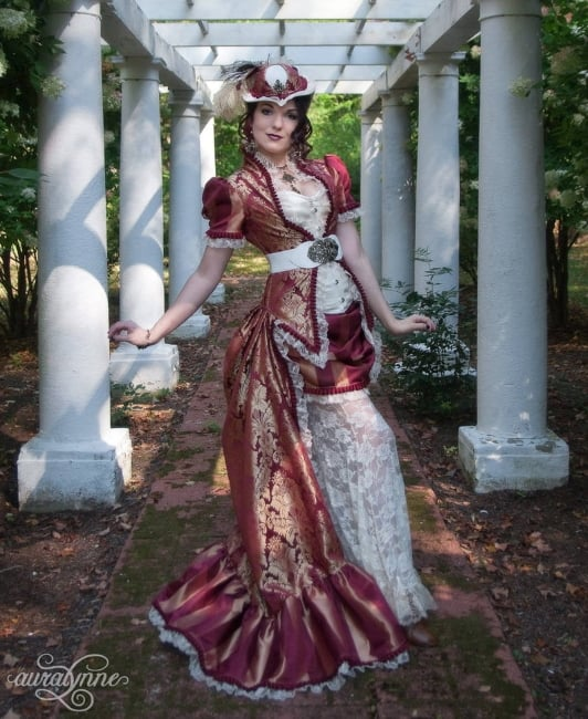 Victorian Steampunk Wedding Dress