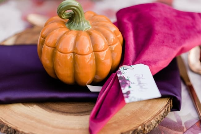 Styled Thanksgiving Ideas for a Party or Wedding feature