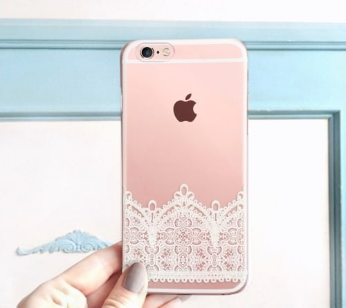 Lace Patterned iPhone Case