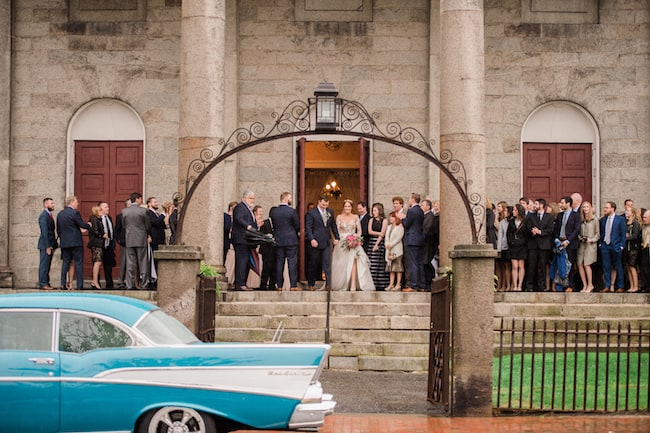 Classic Wedding in Historical Portsmouth NH Featured
