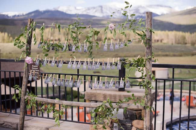 Elegant Summer Wedding in Colorado Mountains Feature