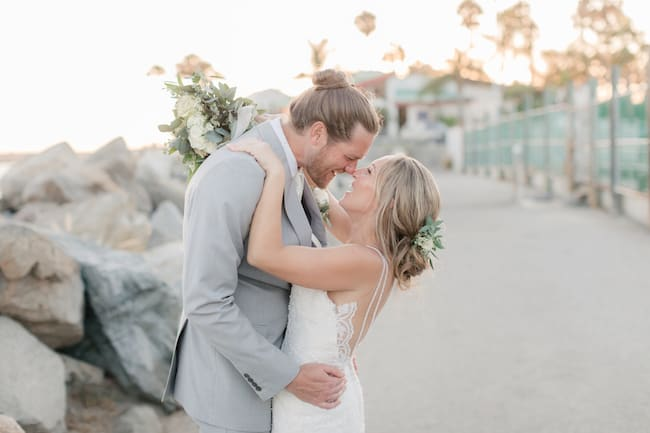 Redondo Beach Harbor Wedding Feature