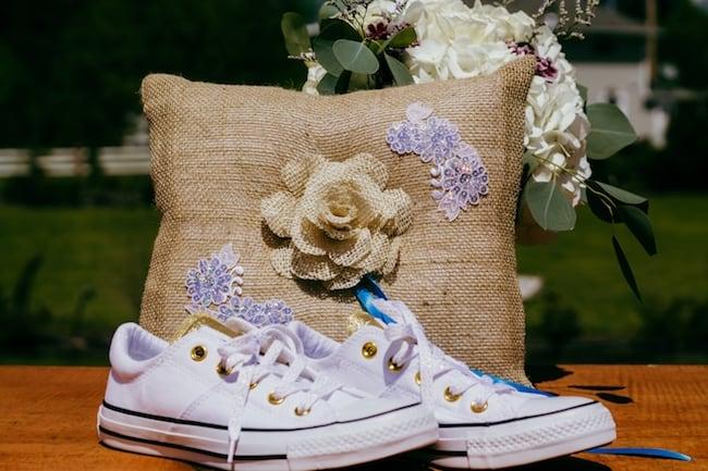 Springtime Brookstom Creek Wedding Featured