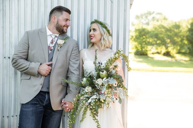Vintage Wedding in Texas Featured