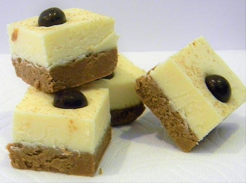 Cappuccino Cheesecake Fudge