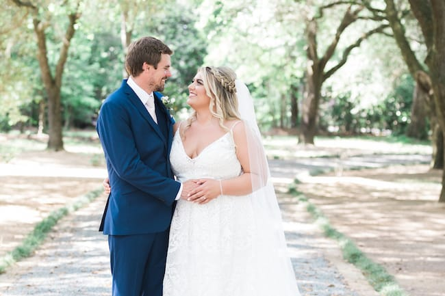 Beautiful Rainy Day Wedding at Tangelwood Plantation Feature
