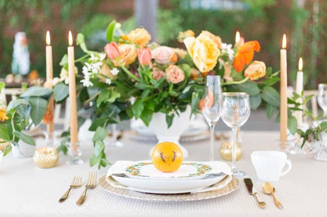 Citrus Blossom Wedding Styled Shoot Feature