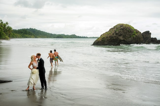 Glam Gold Wedding in Costa Rica Feature