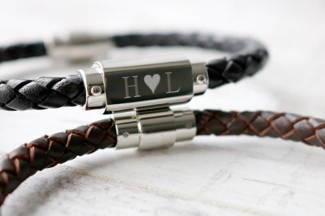 Handmade-Leather-Personalized-Bracelet