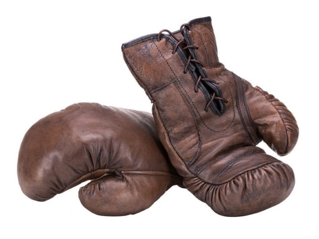 Handmade Leather Boxing Gloves