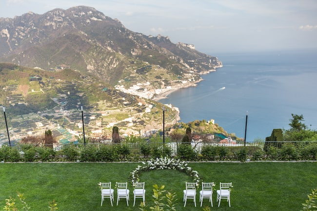 Intimate Amalfi Coast Wedding with Breathtaking Views Feature