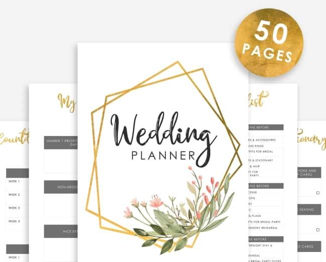 wedding planner suite