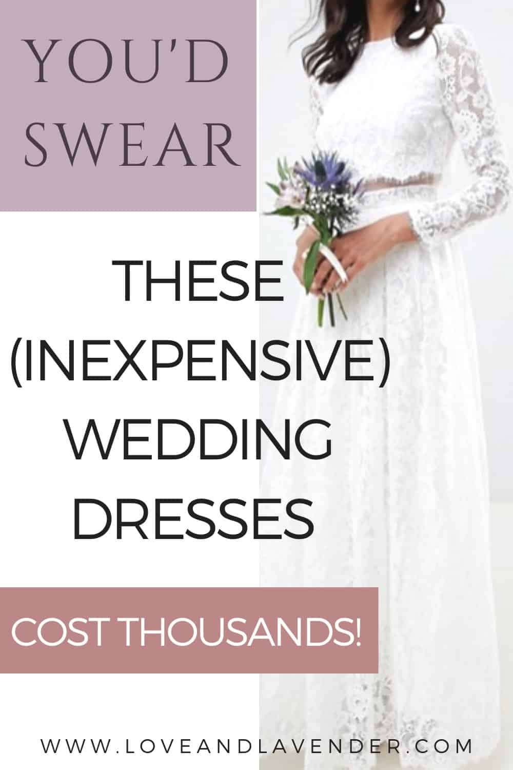 Pin image for Cheap wedding dresses