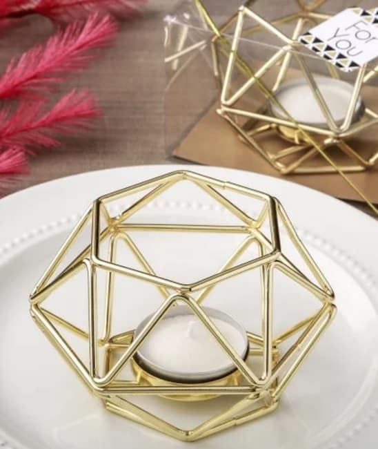 Geometric Votive Holder