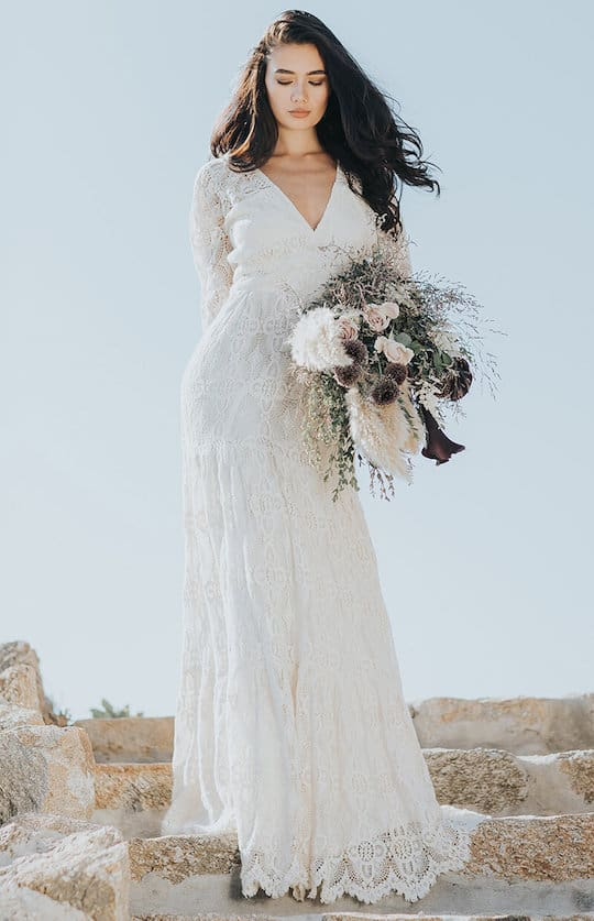 34 Best Online Shops To Buy An Affordable Wedding Dress Updated 2020,Pink And Gold Wedding Dress