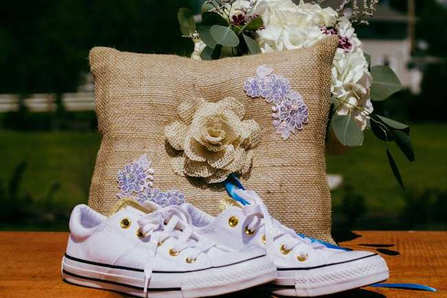 wedding-detail-tweed-ring-cushion-white-sneakers