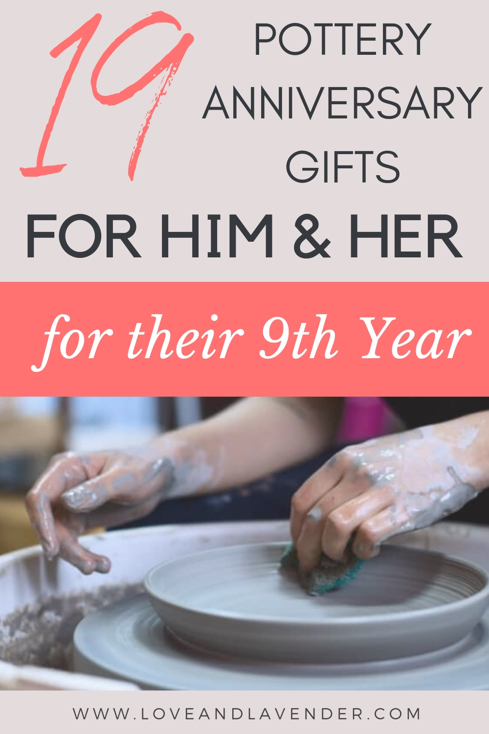 9 Pottery Wedding Anniversary Gifts (9th Year) for Him & Her