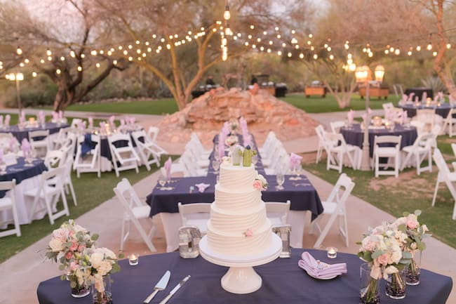 Blush and Lavender Ranch Wedding in Tucson Feature