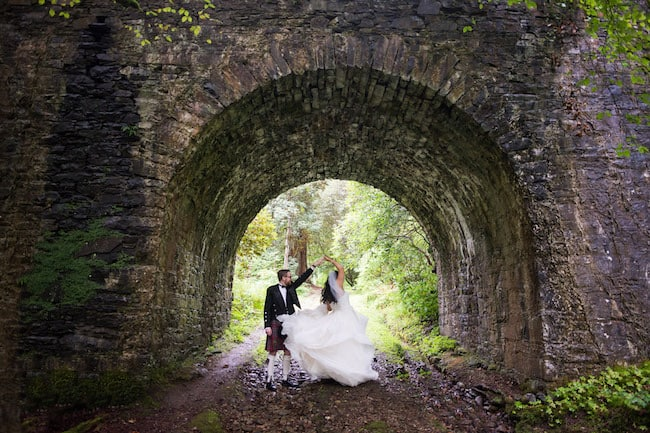 Splendid Castle Wedding In Scotland Feature