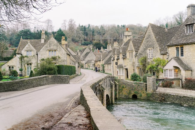 Bridal Inspiration in a Medieval English Village Feature