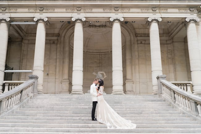 Elegant Multicultural Wedding in Paris Feature