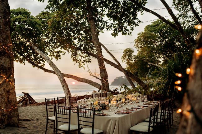 Intimate Seaside Wedding in Costa Rica Feature