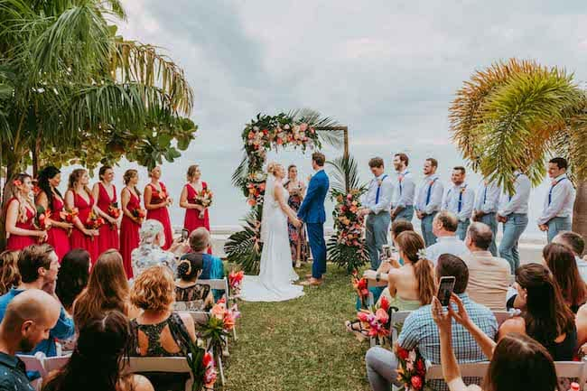 Tropical Destination Wedding in Bora Bora Feature
