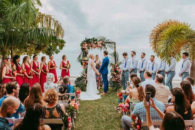 Tropical Destination Wedding in Bora Bora Feature