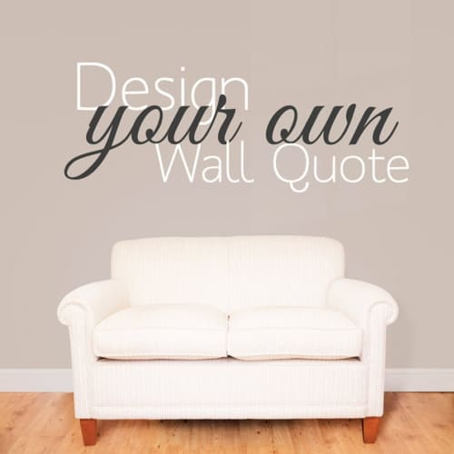 Custom wall decal stickers