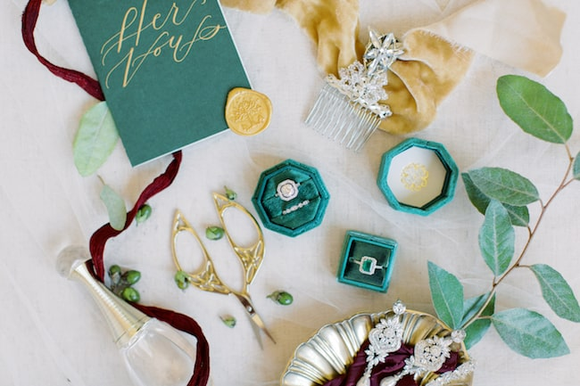 Classy Lord of The Rings Wedding in Houston Feature
