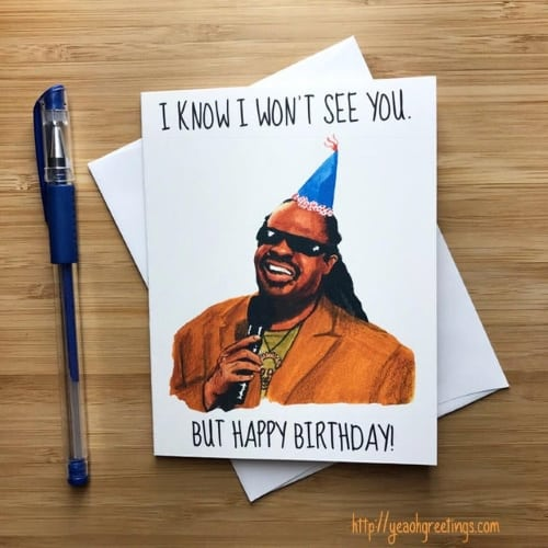 Musician Theme Birthday Card for Isolation