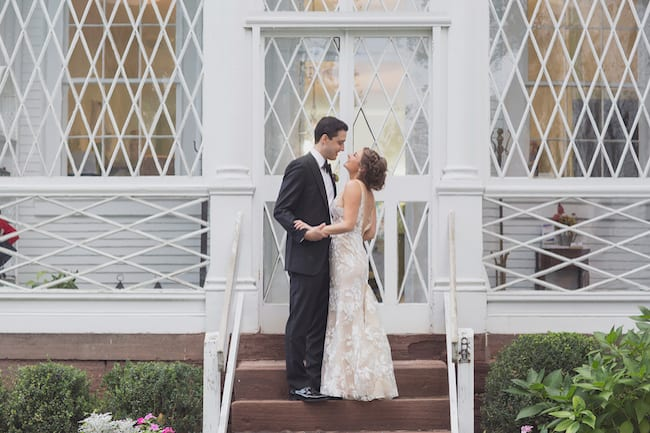 Romantic Wedding at Historical Museum in Rhode Island Feature